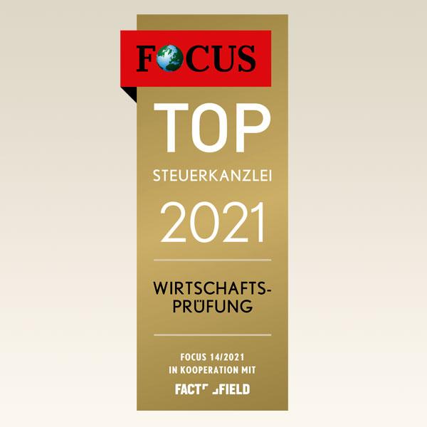 TOP-Siegel 2021 Focus